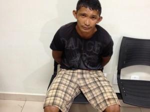 Jovem confessou crime e disse que estava cansado de apanhar do pai (Foto: Marcelo Marques/G1)