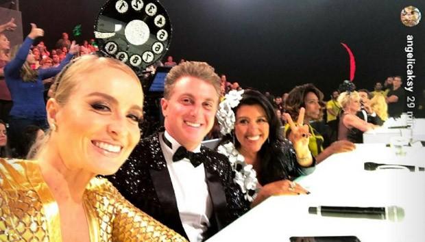 Angélica, Luciano Huck, Regina Casé e Glória Maria (Foto: Reprodução/Instagram)