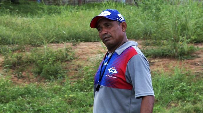 Fabiano Macau, técnico do Piauí  (Foto: Mauro Alves)