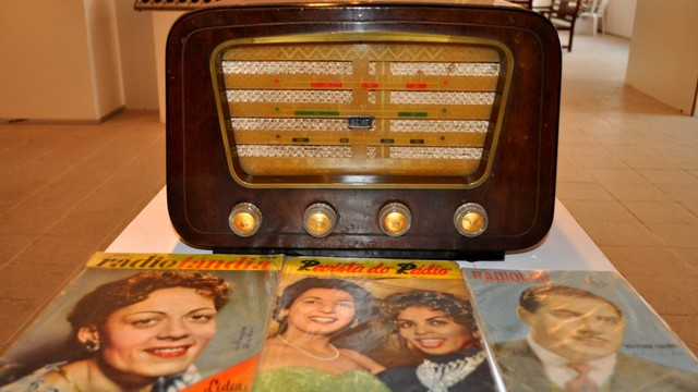 Exposição reúne acervo sobre história do rádio (Foto: Divulgação/Lauro Vasconcelos)