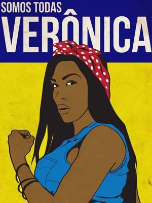 Imagem da campanha #SomosTodasVerônica (Foto: Reprodução/Facebook)