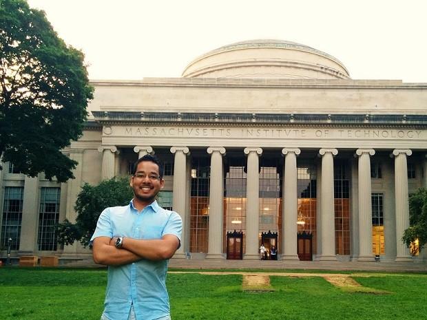 Estudante de engenharia conta que chegar até o MIT foi um processo demorado porqu (Foto: Arquivo Pessoal/ Matheus Akira)