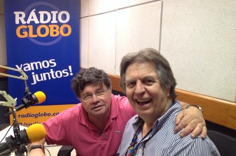 Marcelo Madureira e Maurício Menezes (Foto: Arquivo pessoal)