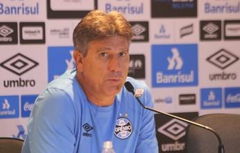 Renato exalta retorno de vitória com gol de atacante contra a Chapecoense