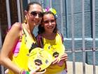 Bloco homenageia Wando em BH, e viúva e filha participam de desfile