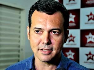 O candidato derrotado do PT ao governo de Mato Grosso, Lúdio Cabral. (Foto: Renê Dióz / G1)