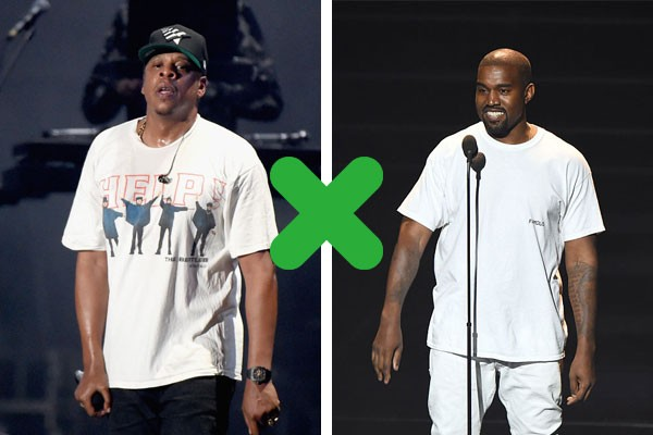 Kanye West X JAY-Z (Foto: Getty Images)