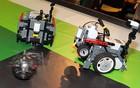 Alunos criam robôs e vibram em partidas de futebol (Maurício Nascimento)