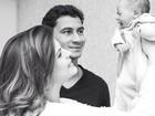 Giovanna Costi mostra foto com o filho e o marido Paulo Henrique Ganso
