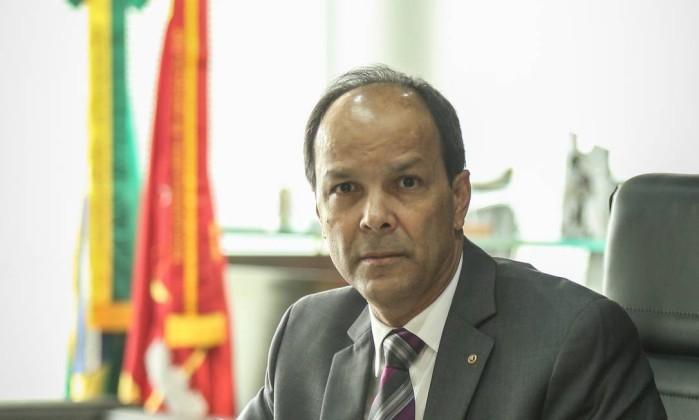 Miranda, procurador-geral: casos de corrupção espalhados no país  (Foto: André Coelho)