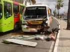Duas pessoas morrem em acidente com cinco veículos na Av. Maranhão
