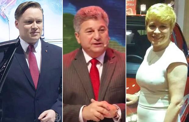 Executivos de montadoras repercutem a eleição de Donald Trump no Salão de SP (Foto: G1/Divulgação)