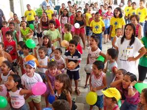 Colônia de férias do Sesc em Pernambuco (Foto: Divulgação/ Sesc-PE)