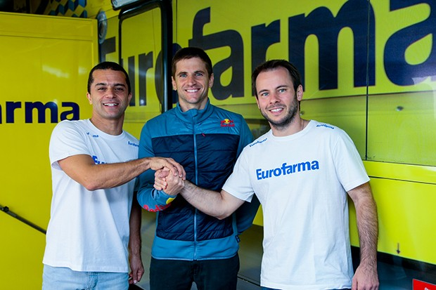 Os pilotos Max Wilson, Daniel Serra e Ricardo Maurício formarão o time RC Eurofarma para 2017. (Foto: Divulgação/Vanderley Soares)