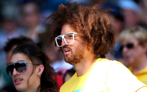 Rapper Stefan 'Redfoo' Gordy  australian open (Foto: Agência Getty Images)