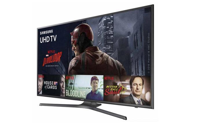 Smart TV 4K com suporte HDR de 40 polegadas tem preço médio de R$ 2.250 (Foto: Divulgação/Samsung)