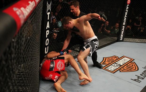 Rick Story x Quinn Mulhern UFC 158 (Foto: Getty Images)