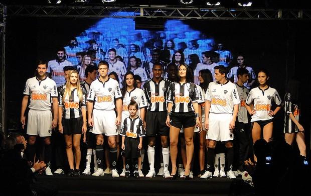 Festa do novo uniforme do Galo, Atlético Mineiro (Foto: Lucas Catta Prêta / Globoesporte.com)