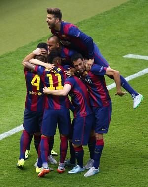 Barcelona Juventus comemoração (Foto: Getty Images)