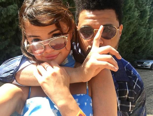 Selena Gomez e The Weeknd (Foto: Reprodução / instagram)