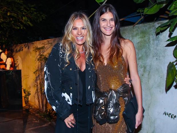 Adriane Galisteu e Carol Francischini em evento em São Paulo (Foto: Manuela Scarpa/ Brazil News)