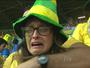 """""""Chorona"""" do 7 a 1 no Jornal Nacional, torcedora se vinga com ouro do Brasil"""