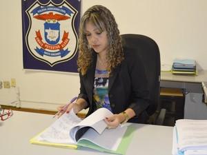 Delegada de Defesa da Mulher em Cuiabá, Jozirlethe Criveletto (Foto: Divulgação/Polícia Civil-MT)