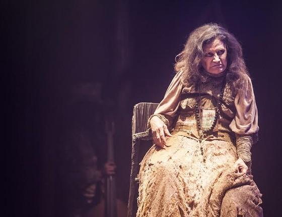 Rosamaria Murtinho surge em surpreendente processo de desconstrução no espetáculo (Foto: Carol Beiriz)