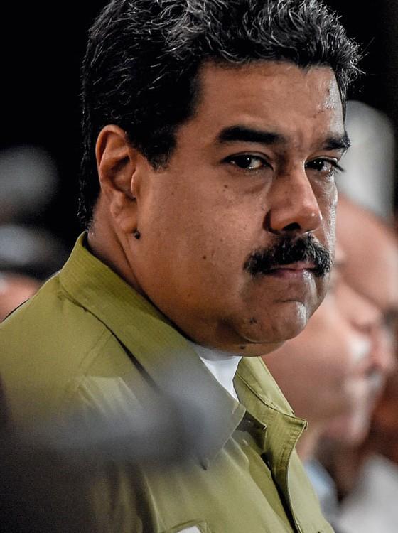 Nicolás Maduro presidente da Venezuela (Foto:  JUAN BARRETO/AFP)