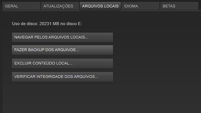 Verifique a integridade dos arquivos do Fallout 4 no Steam (Foto: Reprodução/Tais Carvalho)