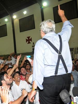 Eleições Vasco - Eurico Miranda (Foto: André Durão)