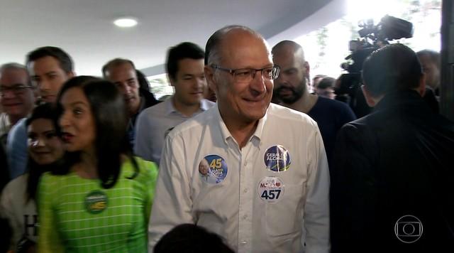 Geraldo Alckmin (PSDB) votou em São Paulo