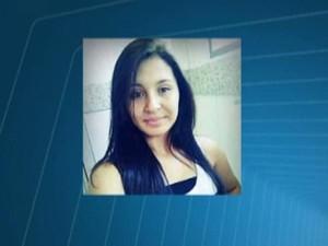 adolescente Gabriela Oliveira morta tiro supermercado assalto Itaúna MG (Foto: Reprodução/TV Integração)