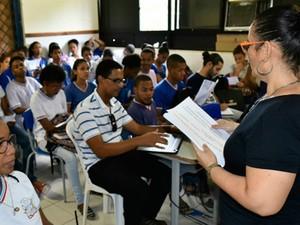 Concurso professores Bahia (Foto: Divulgação)