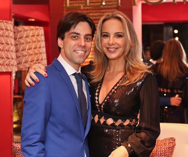 Fabio Brandão e Larissa Bicalho (Foto: Divulgação)