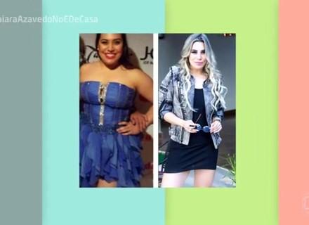 Naiara Azevedo conta como perdeu 33 quilos e comenta fotos antigas: 'Era imensa'
