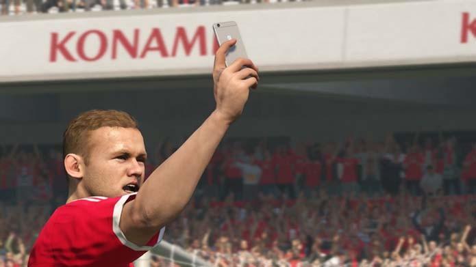 Comemoração com uma selfie é novidade do game (Foto: Reprodução/Murilo Molina)