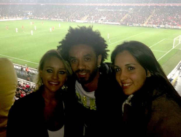 Camila, Cristian fenerbahçe, Melissa (Foto: Arquivo Pessoal)