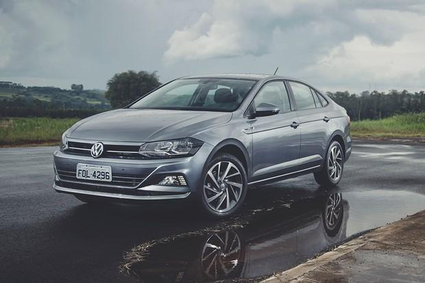 Volkswagen Virtus (Foto: Fabio Aro/Autoesporte)