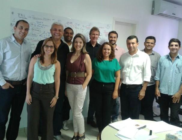 Treinamento reuniu gestores e coordenadores de diversos setores do Núcleo Minas. (Foto: Deisiane Mendes / Arquivo Pessoal)