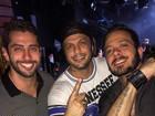 Ex-BBBs Marcelo, Kléber Bambam e Max Porto badalam em Curitiba