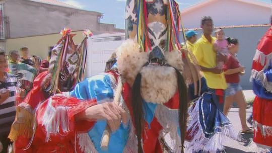Folia de Reis toma as ruas de Mococa para celebrar o nascimento de Jesus