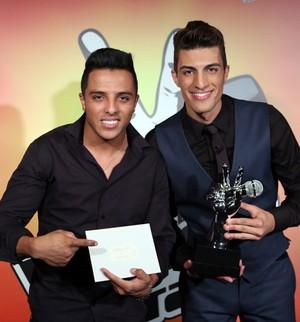 Danilo Reis e Rafael avaliam carreira (Isabella Pinheiro/Gshow)