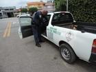 Guarda Municipal recupera veículo com 13 botijões de gás roubados