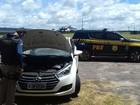 Polícia Rodoviária Federal apreende veículo roubado no Maranhão