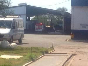 Dois morrem em curtume após cair em caixa com produto químico em MS (Foto: Priscilla dos Santos/ G1 MS)