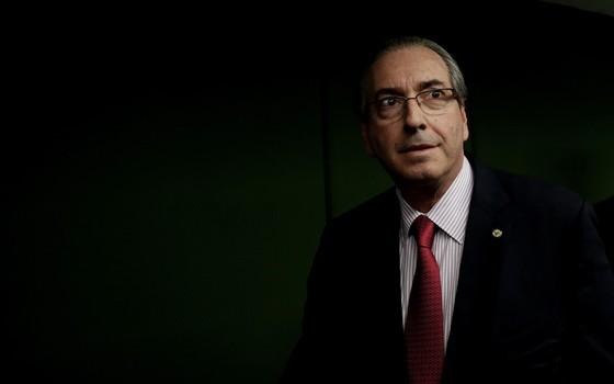 O presidente da Câmara, Eduardo Cunha. (Foto: Adriano Machado/ Epoca)
