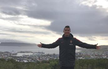 BLOG: A caminhada matutina de Cristiano Ronaldo durante visita às Ilhas Faroe