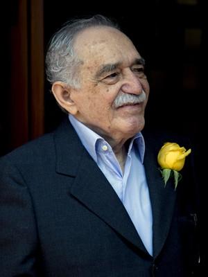 Garcia Marquez, no dia 6 de março deste ano, em seu 87º aniversário durante recepção para fãs e imprensa (Foto: Eduardo Verdugo/AP Photo)