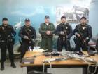 Polícia recupera três fuzis roubados da Base Aérea de Fortaleza